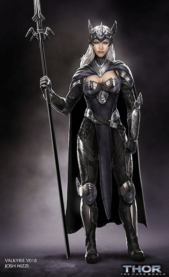 Valkyrie concept art three